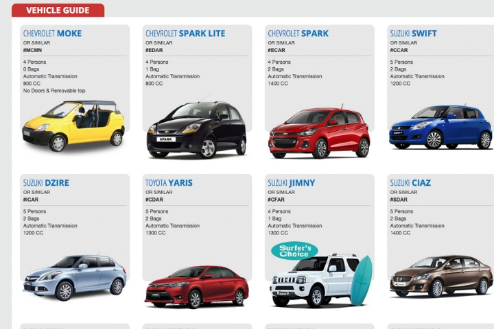 choosing your preferred vehicle