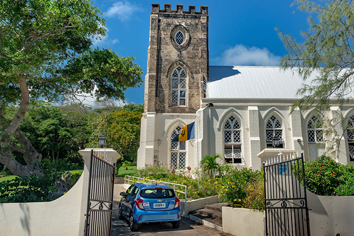 drive a matic car at st andrew church
